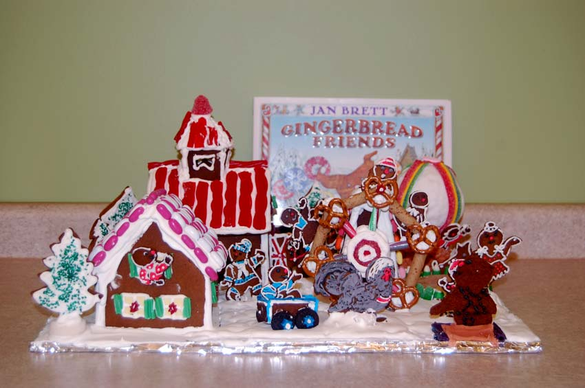 Sue Wilder Gingerbread Creation -  Gingerbread Friends