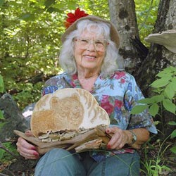 Woods & Water; Nellie Garnet Staves with fungi