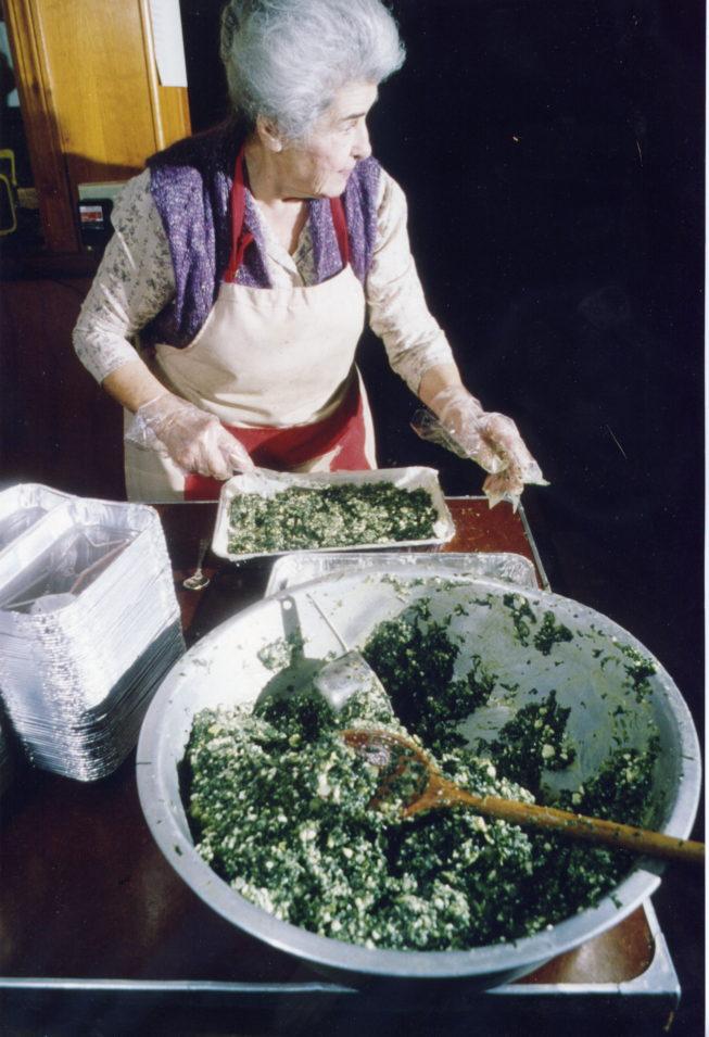Greek cook Cristina Mesires.