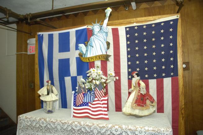 St. Vasilios Greek Orthodox Church Pastry Sale, Watertown, NY.