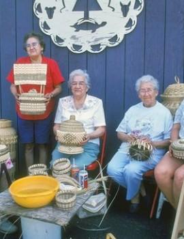 Akwesasne Basket Makers
