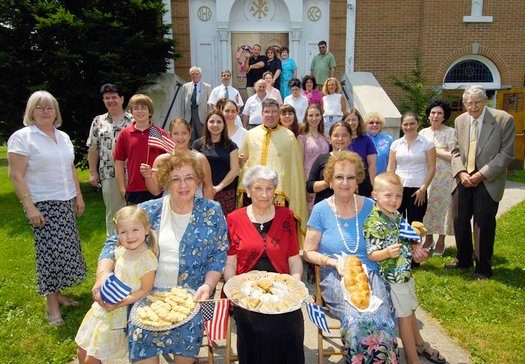 St. Vasilios Greek Orthodox Church Traditional Pastry Makers, Watertown, NY.