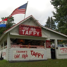 Freeman's Taffy Stand